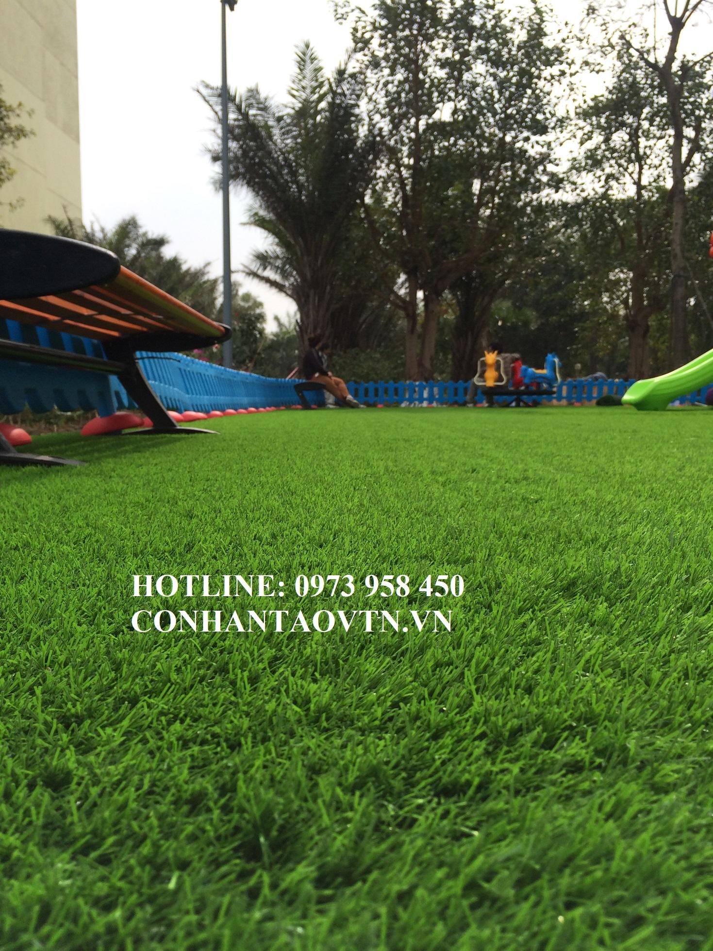 cỏ nhân tạo tại Thành Phố Thái Bình