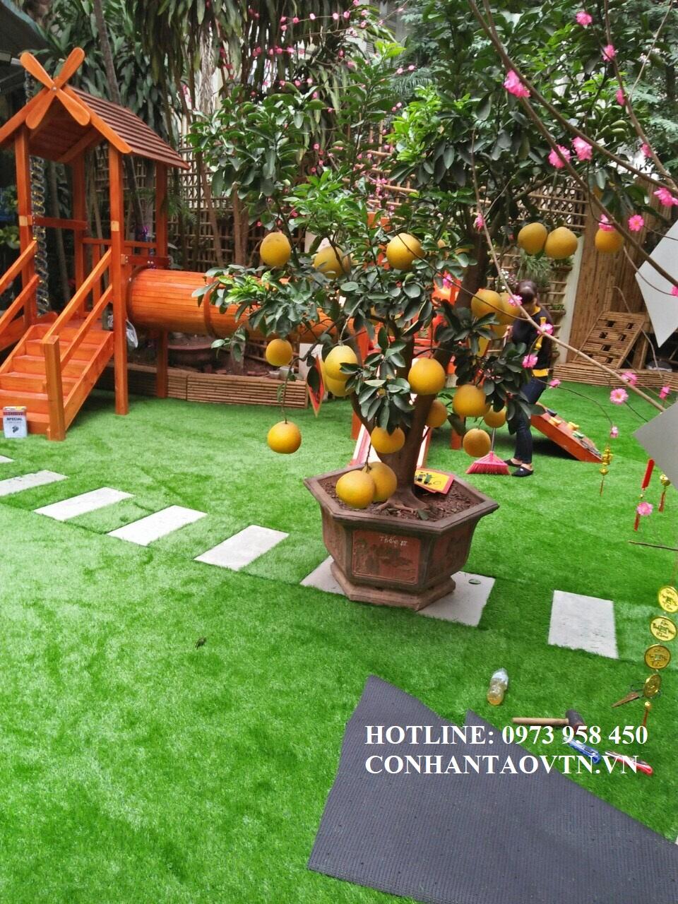 thảm cỏ nhân tạo hà nội