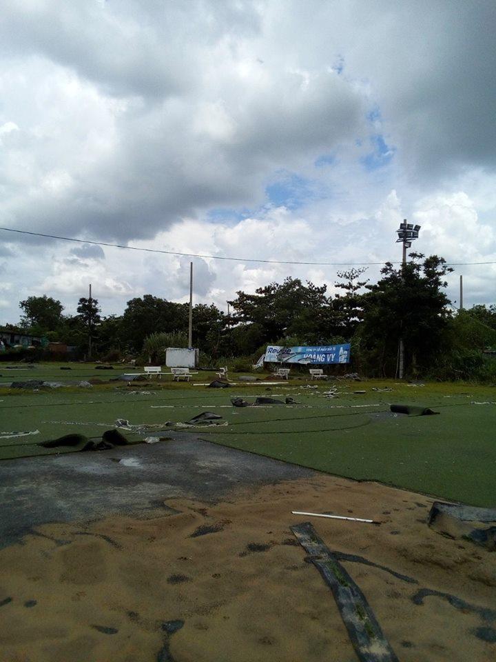 quy trình thay cỏ mới cho sân bóng cũ