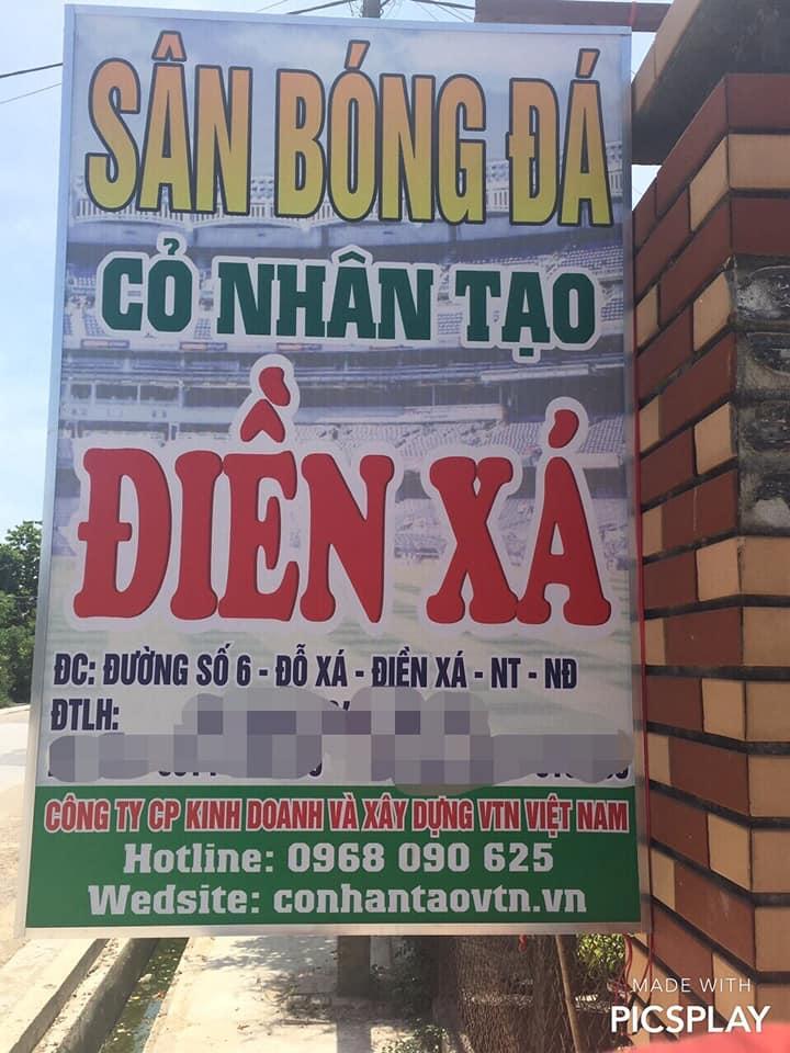 co san bong