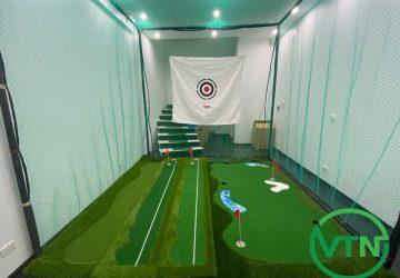 bộ khung lông tập golf